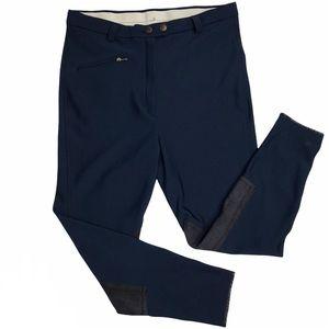 Devon Aire Women's Breeches Riding Pants Navy Blue